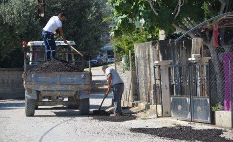 Asfalt yollarda bakım ve onarım çalışmalarına başlandı