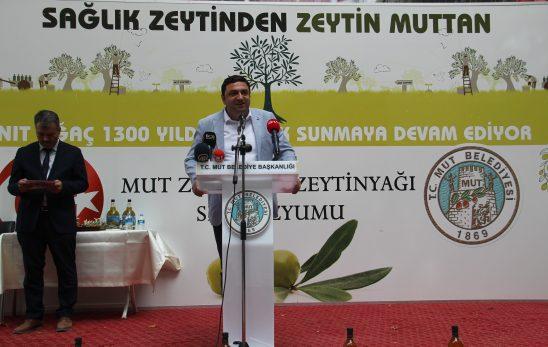 8. Mut Zeytin ve Zeytinyağı Şenliği yapıldı.