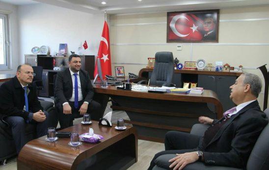 Mersin Valisi SU, Başkan ŞEKER'i ziyaret etti.